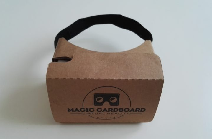 preiswerte VR-Brille - Magic Cardboard