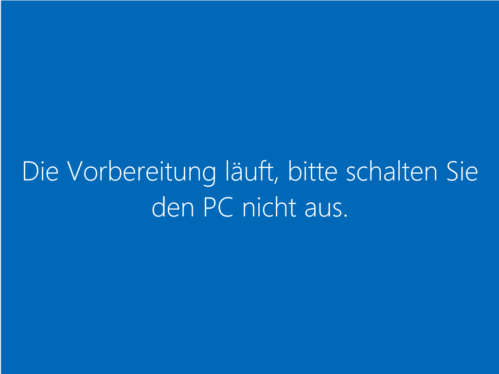 Windows 10 Neuinstallation - Installation